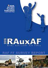 Image showing the 2016 RAuxAF report cover.
