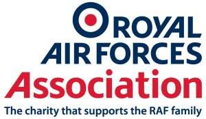 RAF Association logo with strapline