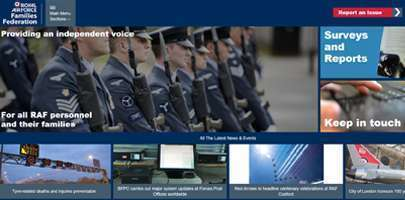 The new RAF FF website
