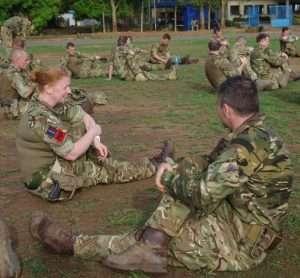 RAF Regiment Battle PT