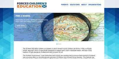 Forces children's education