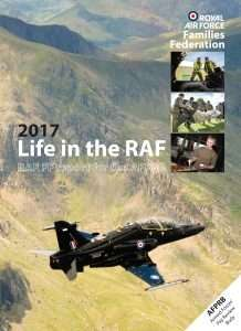 Life in the RAF 2017 FRONT COVER