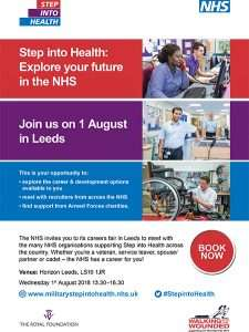 Step into Health poster and details
