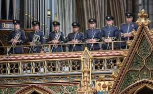 The RAF100 Westminster Abbey Service