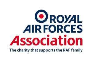 Image showing the RAF Association's logo with strapline underneath - The charity that supports the RAF family
