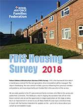 Image showing the front cover of the FDIS Housing Survey Report 2018.