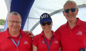The team on the FF stand at RAF Leeming Families Day