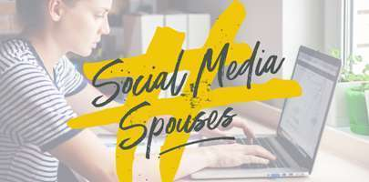Image shows Social Media Spouses logo