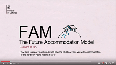 Video clip explaining what the Future Accommodation Model is and the decisions so far.