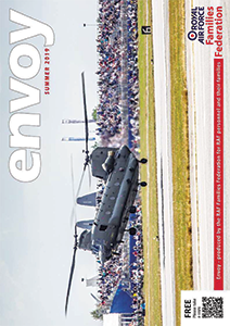 Image front cover of summer 2019 Envoy magazine