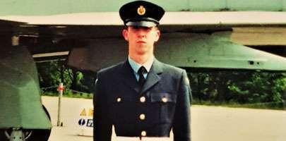 Image Andrew Stevens graduation