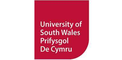 Image shows University of South Wales logo