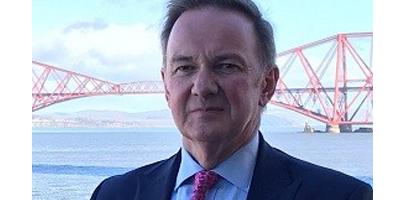 Image shows former helicopter pilot Gavin Davey