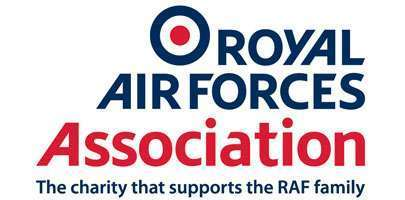 Image shows RAF Association logo