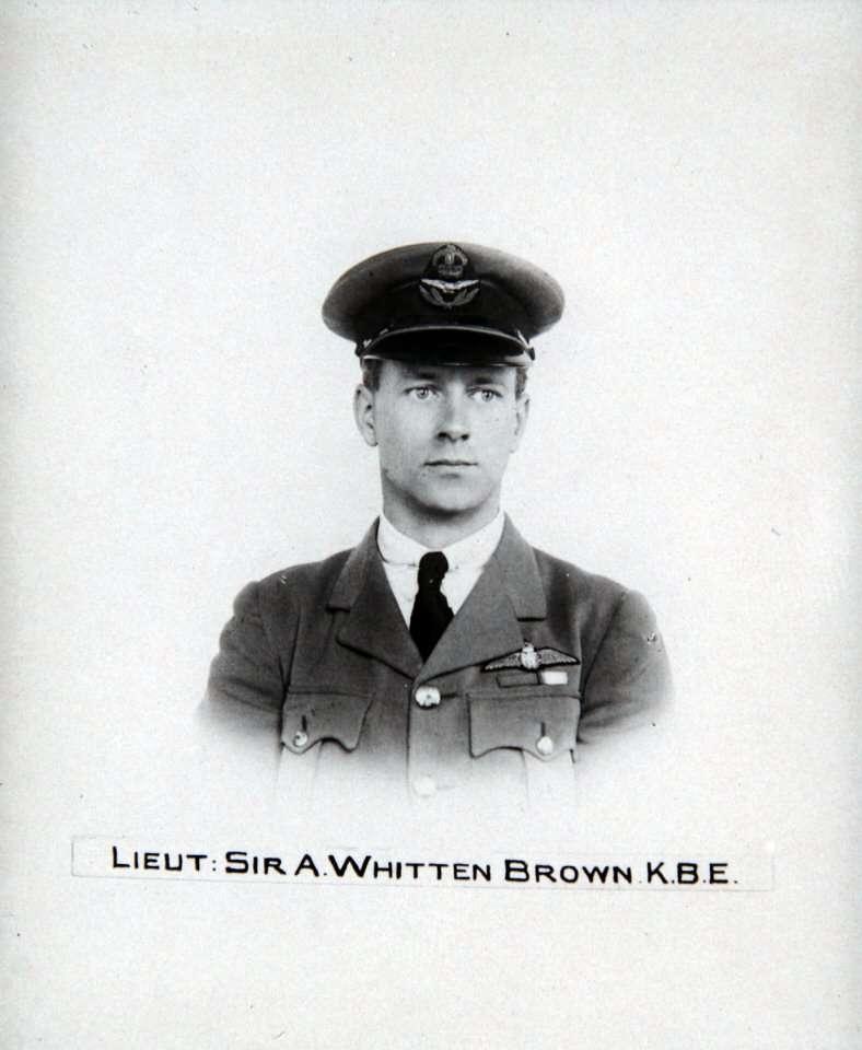 Portrait of Brown taken in 1919.