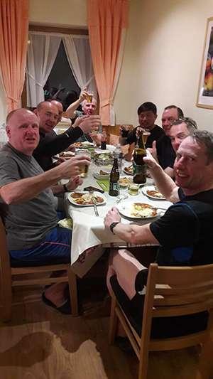 Boys Night In (SAC Steve Johnson front left).