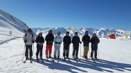 Group Two (advanced skiers).