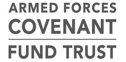 Image shows Armed Forces Covenant Fund Trust logo