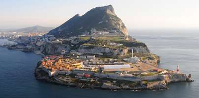 Image of RAF Gibraltar to represent overseas living for RAF personnel and their families