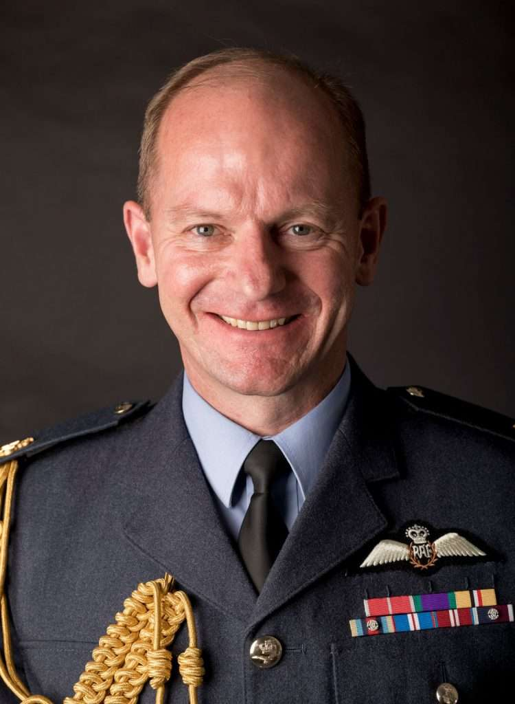 Image of incoming Royal Air Force Chief of the Air Staff, Air Chief Marshal Mike Wigston.