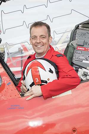 Red 3 Squadron Leader Mike Bowden
