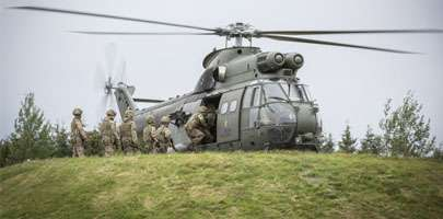 Troops from 2 Yorks Regiment of the British Army conducted training with the Royal Air Force on Exercise Heart Attack which was held in the north west of England.