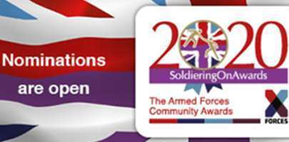 Image of the 2020 Soldiering On Awards banner