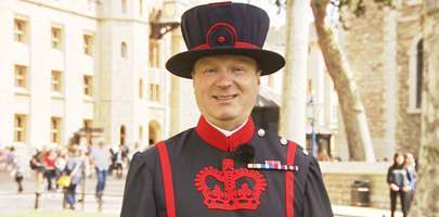 Yeoman Warder, Barry Stringer MBE.