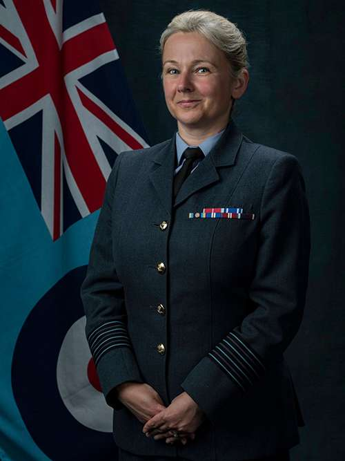 Group Captain Jo Lincoln - Image By: SAC Kim Waterson