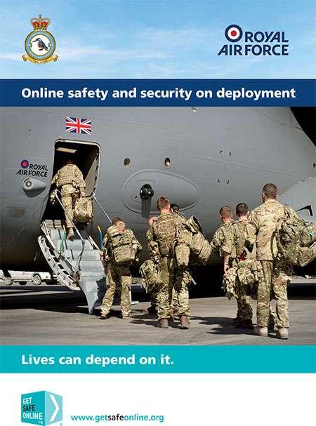 Image shows Safe and secure deployments leaflet