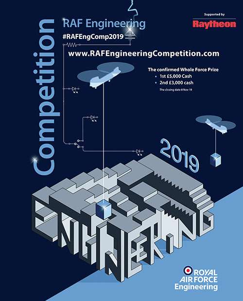 RAF Engineering Competition 2019 poster