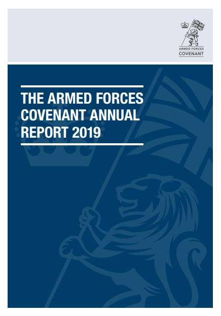 Image showing the front cover of the AFC Annual Report 2019.