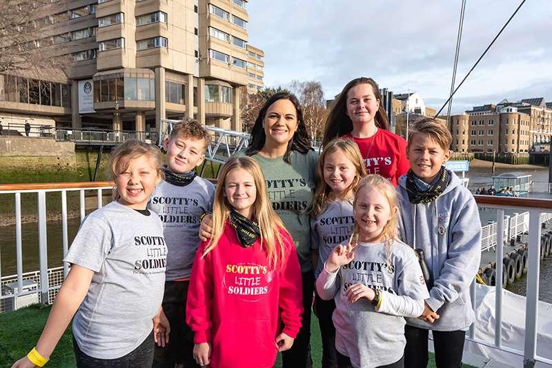 Scotty's Founder, Nikki Scott with some of the Scotty children.