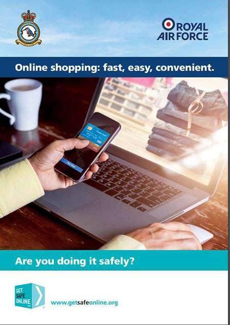 GetSafe Online leaflet Online shopping: fast, easy, convenient.