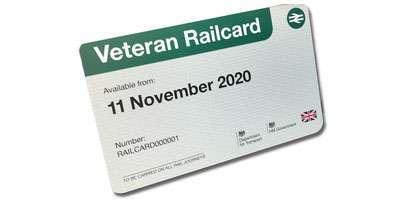 Image of Veterans railcard