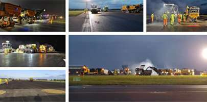 Amey's Defence teams deliver runway works at RAF Coningsby