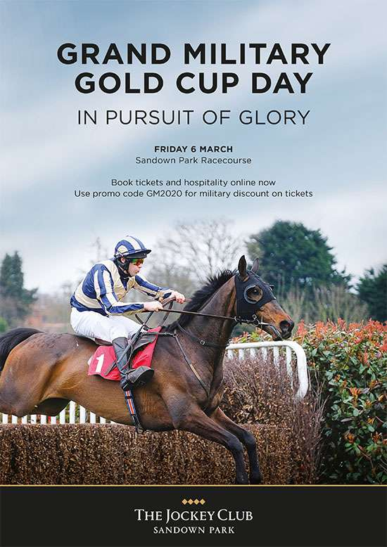 Grand Military Gold Cup Day In Pursuit of Glory poster