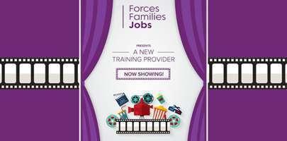 FFJs graphic geared around a film clip