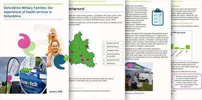 Healthwatch Oxfordshire report