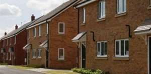 Image showing the SFA (Service Family Accommodation) estate, built at Beacon Barracks in Stafford, UK.