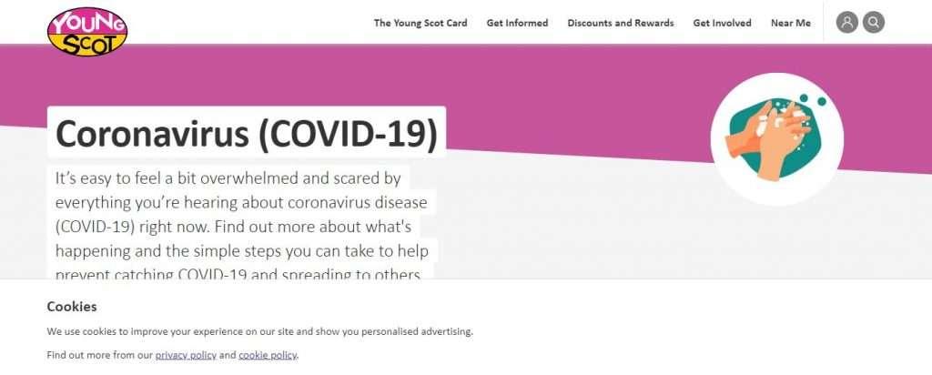 YoungScot website