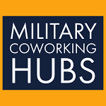 military coworking hub logo