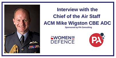 Interview with CAS ACM Mike Wigston CBE ADC