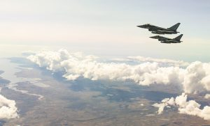 Images taken during an air to air refueling sortie out of MPA envolving an Airtanker from 1312Flt and Typhoon aircraft from 1435Flt.