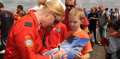 Red Arrows signing