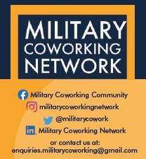 Military Coworking Network Social Channels