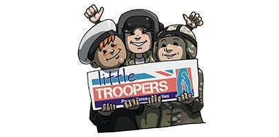 Little Troopers Holding Logo
