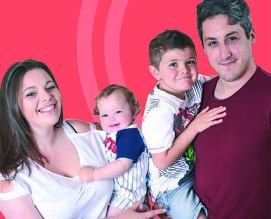 RFEA Beneficiary, Dannielle Fitzwilliam and family