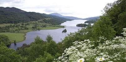 Scottish mountain image