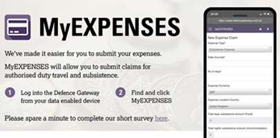 My expenses poster web